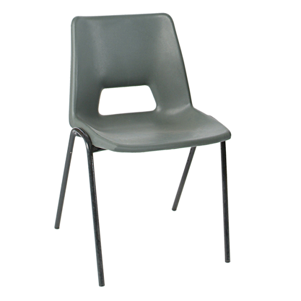 ADV Stacking Chair Charcoal