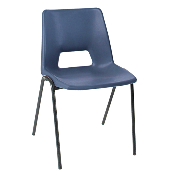 ADV Stacking Chair Petrol Blue