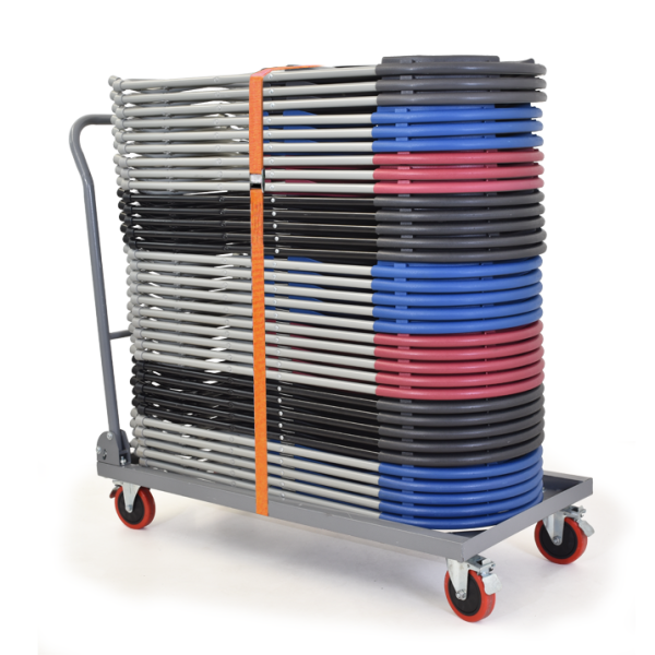 Folding 40 Chair Trolley inc. one strap