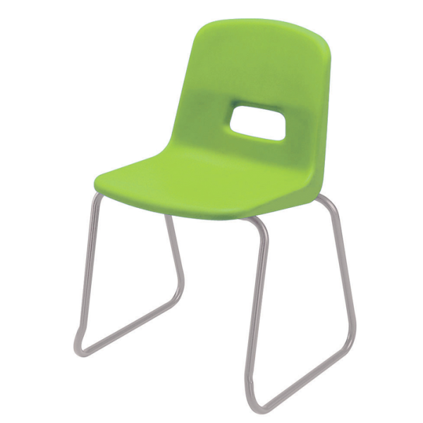 GH20 Skid Base Stacking Chair
