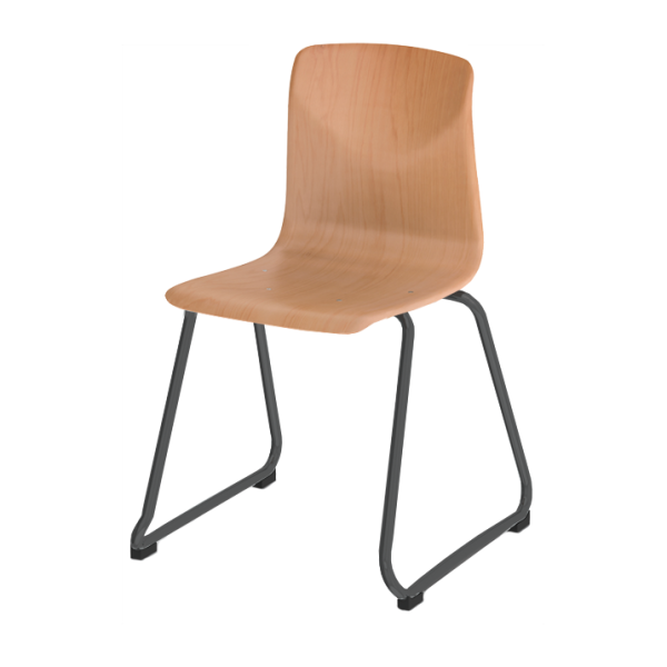 Pagholz 7200 Sled-Base Stacking Chair