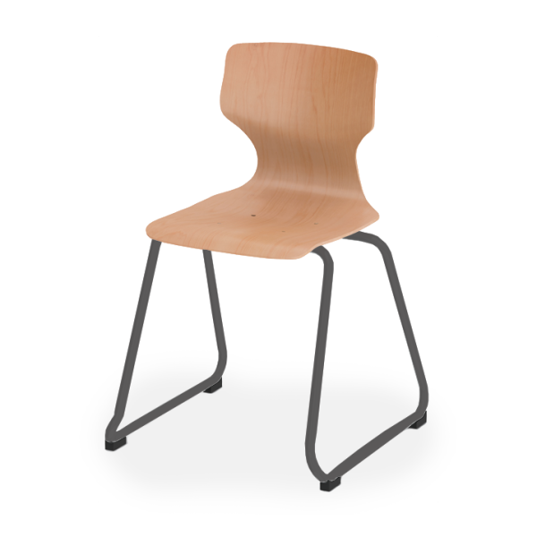 Pagholz 7800 Sled-Base Stacking Chair