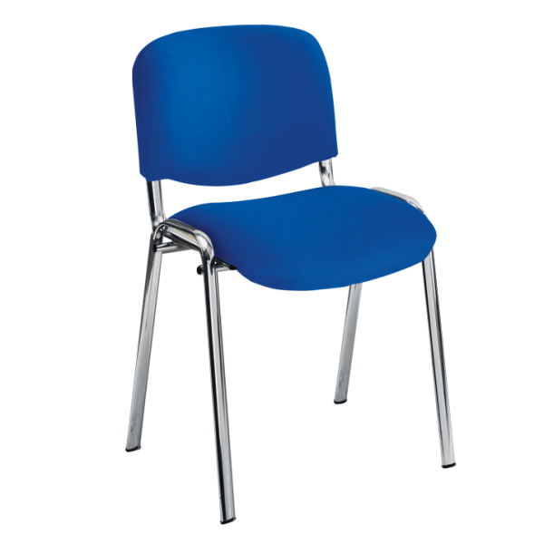 Rye Stacking Chair with Chrome Frame