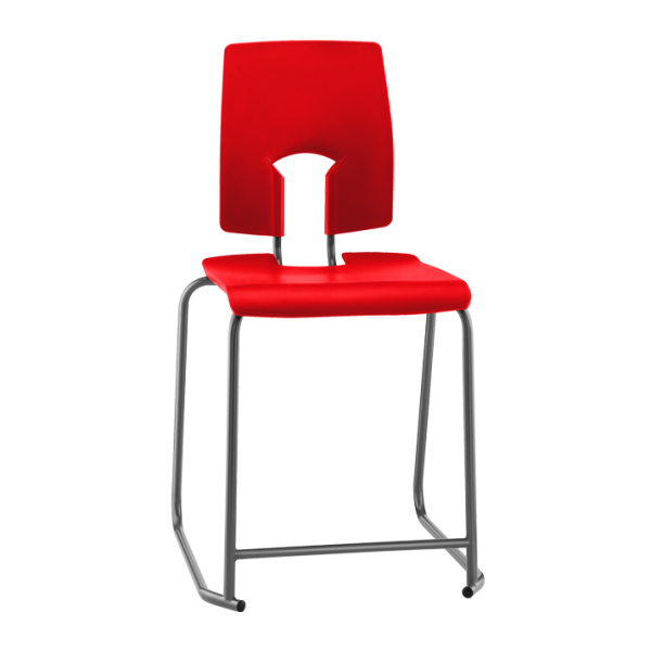SE Stool With Back