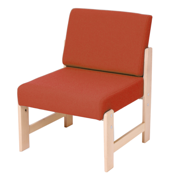 Wooden Low Easy Chair