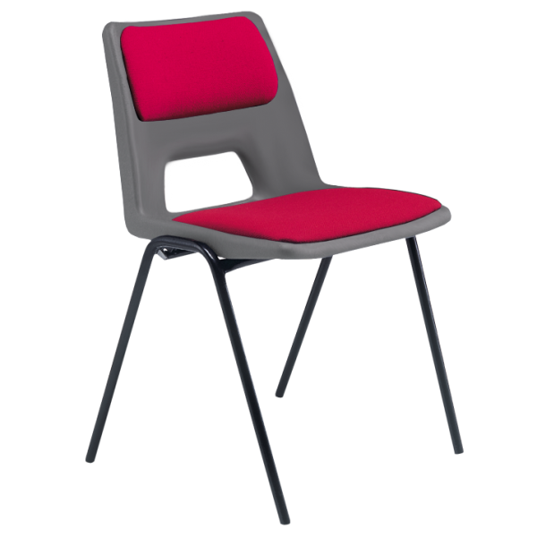 ADV Stacking Chair with Seat & Back Pad