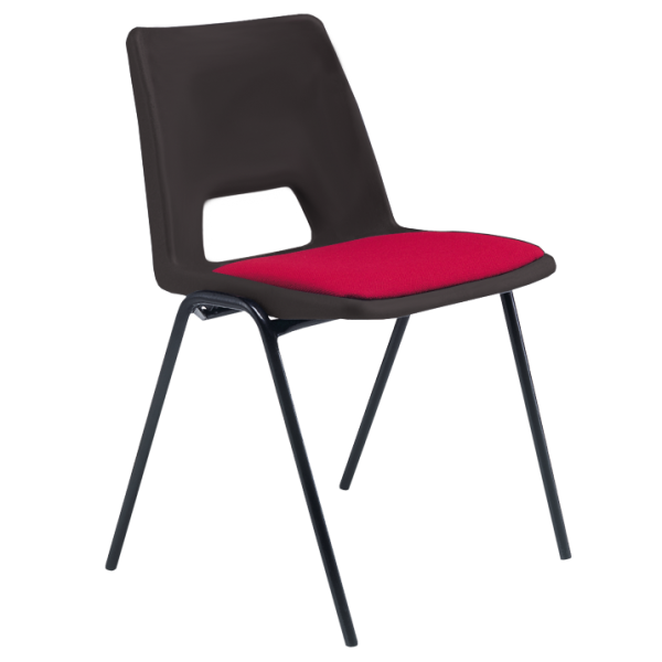 ADV Stacking Chair with Seat Pad