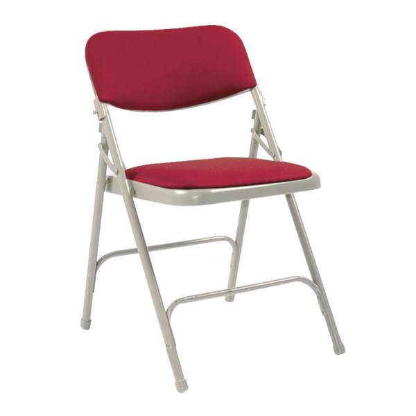 All Steel Folding Upholstered Chair