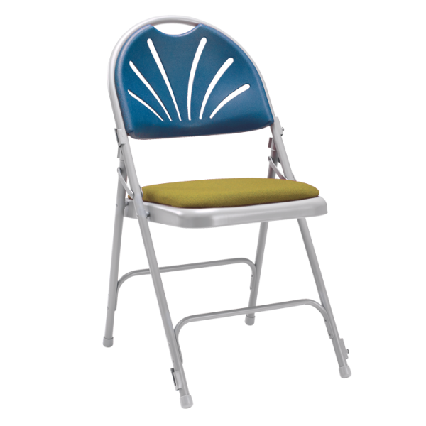 Comfort Steel Chair with Uph Seat & Link