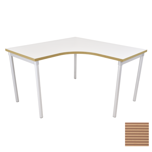 Enviro Workspace Table 1200 x 1200mm Corner Unit