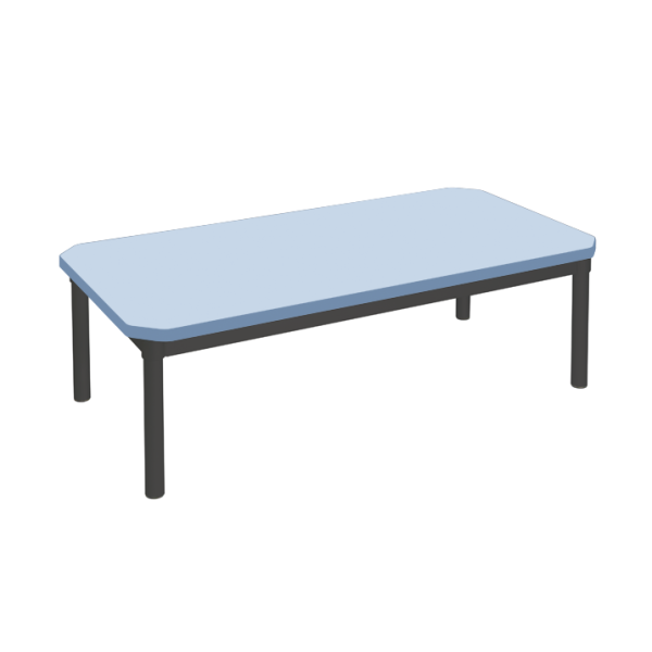 Enviro Coffee Table 1200 x 600mm Black Frame