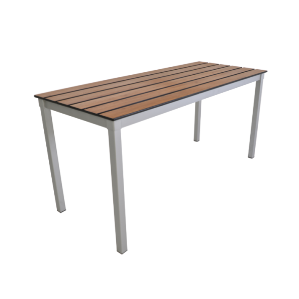 Enviro Slatted Top Outdoor Table