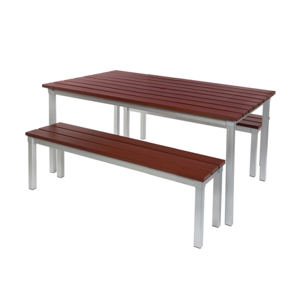 Enviro Outdoor Table Set 1250 x 900 x 710mm High
