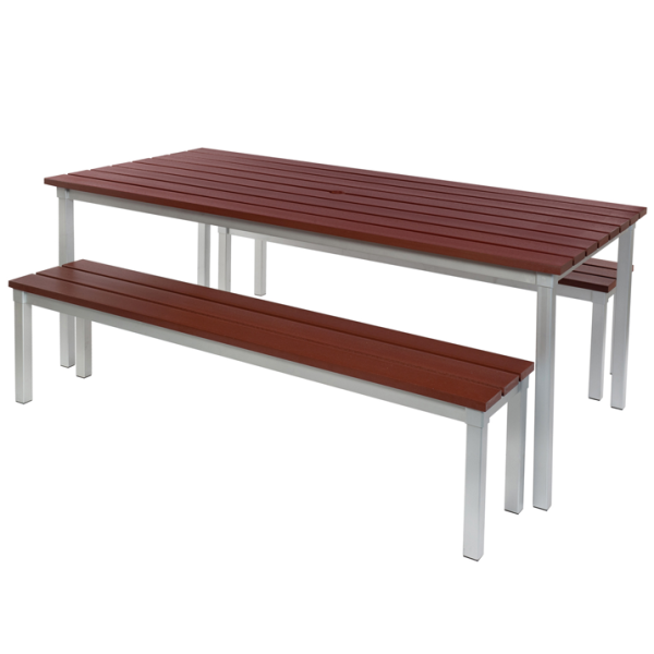 Enviro Outdoor Table Set 1800 x 900 x 710mm High