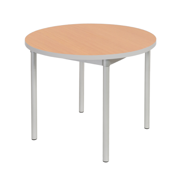Enviro Table 1000mm Round Silver
