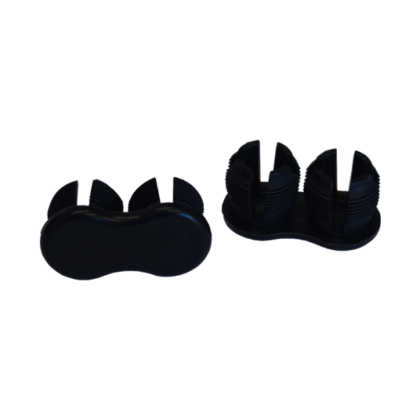 Fir Tree Double Foot Black (Pack of 20)
