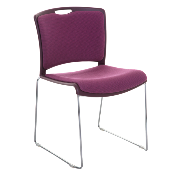 Jasper Stacking Chair Fully Upholstered