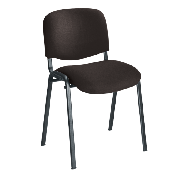 Rye Stacking Chair with Black Frame