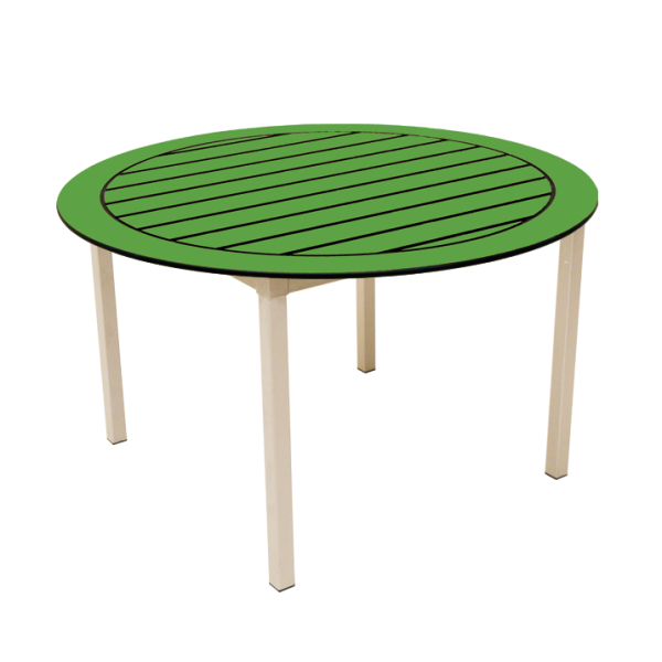 Enviro Slatted Round Outdoor Table