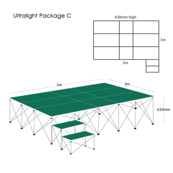 Ultralight Stage Package C